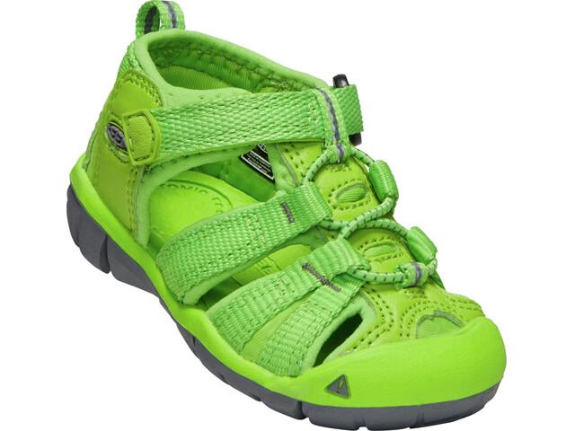 Keen Seacamp II CNX Sandals Children Vibrant Green